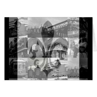 Collage de New Orleans [tarjeta de felicitación]