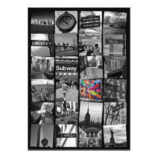 Collage de New York City de photograps Fotografía