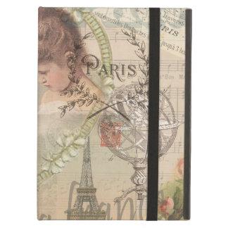 Collage de París Francia del vintage