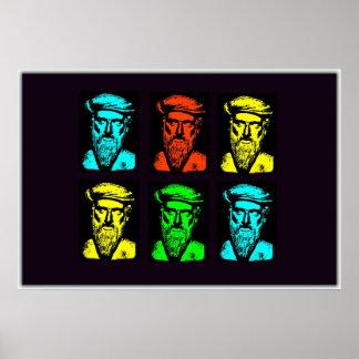 Collage de Pitágoras Póster