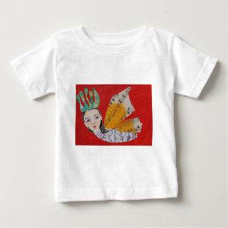 Collage de princesa With Musical Wings Art de la T-shirts