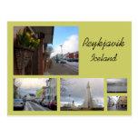 Collage de Reykjavik Postales