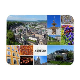 Collage de Salzburg Imanes Rectangulares