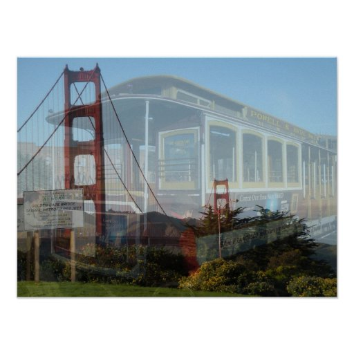 Collage de San Francisco Póster