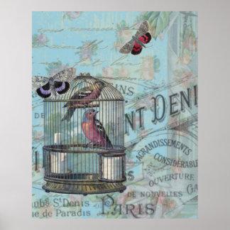 Collage de Shabbychic París subió