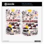 Collage de Shid Latta 666 para el rayo de HTC Skins Para HTC Thunderbolt