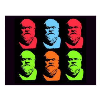 Collage de Sócrates Postales