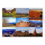 Collage de Utah Tarjeton