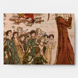 Collage de varios colores del gaitero sobres