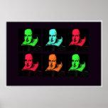 Collage de William Shakespeare Póster