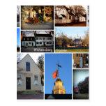 Collage de Williamsburg Postales