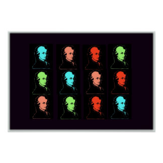 Collage de Wolfgang Amadeus Mozart Posters
