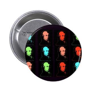 Collage de Wolfgang Amadeus Mozart Pin