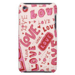 Collage del amor barely there iPod protectores