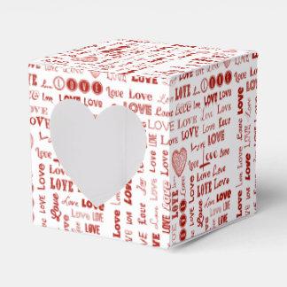 Collage del amor cajas para regalos de fiestas