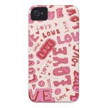 Collage del amor Case-Mate iPhone 4 fundas