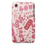 Collage del amor iPhone 3 Case-Mate protectores