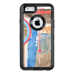 collage del arte abstracto, técnicas mixtas y funda otterbox para iPhone 6/6s