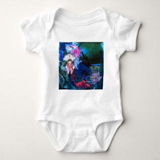 Collage del arte de la diosa de Mermaig con los Body Para Bebé