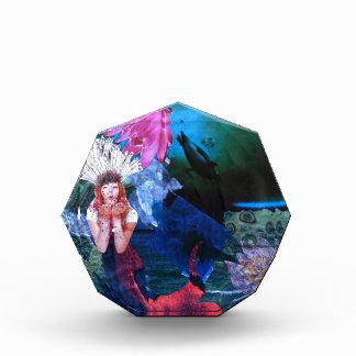Collage del arte de la diosa de Mermaig con los pi