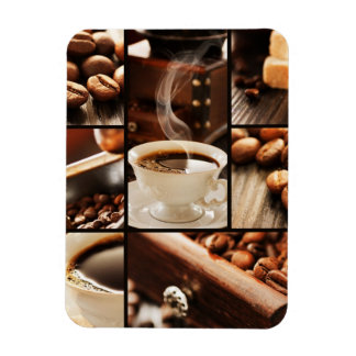 Collage del café imanes