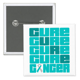 Collage del cáncer de cuello del útero de la CURAC Pin Cuadrada 5 Cm
