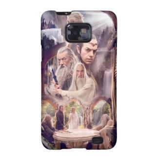 Collage del carácter de Rivendell Samsung Galaxy SII Fundas