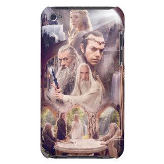 Collage del carácter de Rivendell iPod Case-Mate Protectores