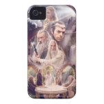 Collage del carácter de Rivendell iPhone 4 Protectores