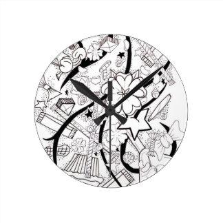 collage del caramelo relojes