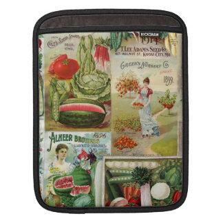 Collage del catálogo de la fruta y de semilla de mangas de iPad