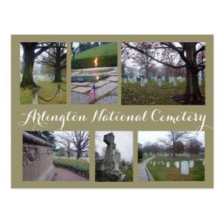 Collage del cementerio de Arlington Postal