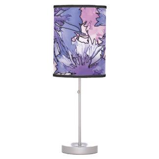 Collage del Cornflower Lámpara De Escritorio