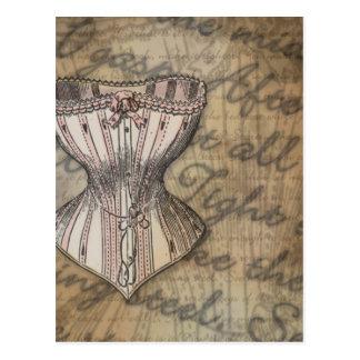 Collage del corsé postal