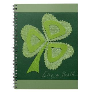 Collage del día de St Patrick 16 Cuaderno