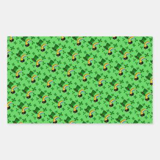 Collage del día del St Patricks Rectangular Altavoces