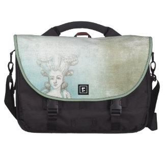 Collage del estilo de pelo de las señoras del bolsas de ordenador