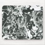 Collage del gris del superhombre tapetes de ratones