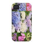 Collage del Hydrangea Vibe iPhone 4 Funda