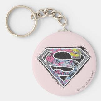 Collage del logotipo de Supergirl Llaveros Personalizados