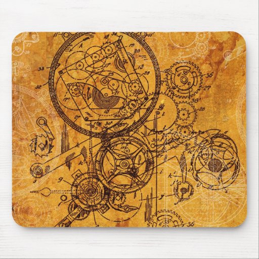 Collage del mecanismo tapete de ratón