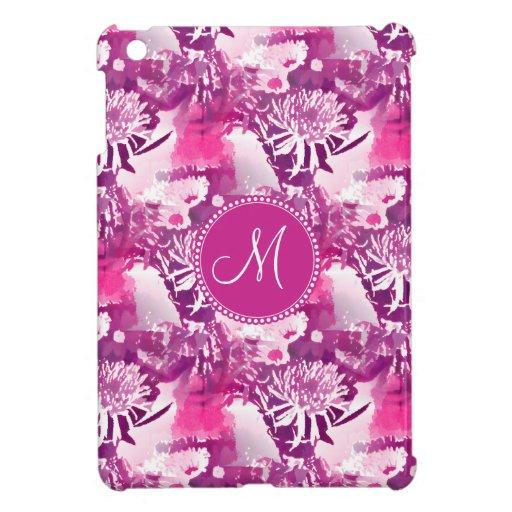 Collage del ramo de la flor de las rosas fuertes d iPad mini cárcasa