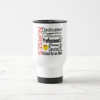 Collage del reconocimiento de las enfermeras:  El  Tazas De Café