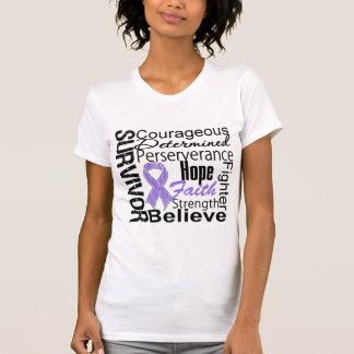 Collage del superviviente del linfoma de Hodgkins Camisetas
