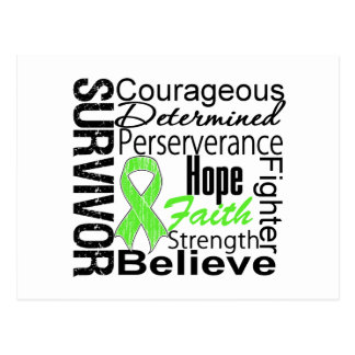 Collage del superviviente del linfoma postal
