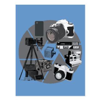 Collage del tiempo de la cámara