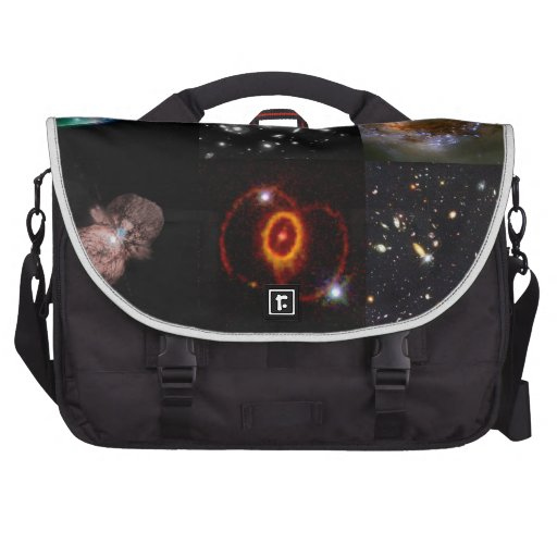Collage del universo bolsas de portatil
