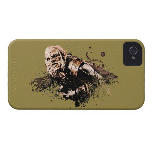 Collage del vector de Gothmog Orc Case-Mate iPhone 4 Cobertura