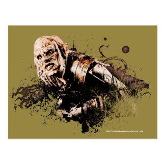 Collage del vector de Gothmog Orc Tarjeta Postal