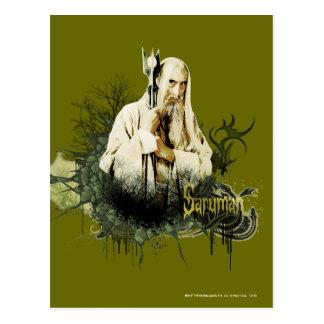 Collage del vector de SARUMAN™ Postal